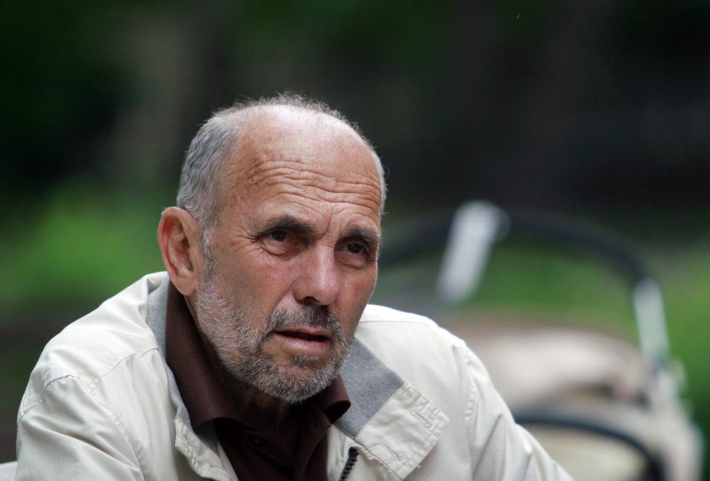 Стефан Сидовски, портрет (© Фотографија на Сашо Алушевски)